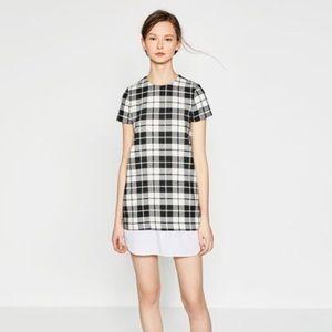 ZARA | Plaid dress